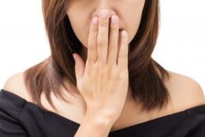 surprising bad breath